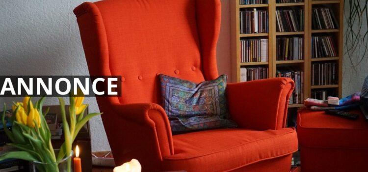 Ein neuer Sessel bringt Entspannung und Farbe in Ihr Leben